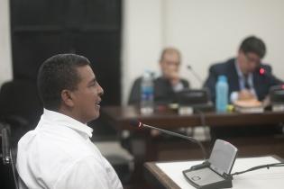 Jaime Adalberto Agustín Recinos, quien fue combatiente en el Frente Javier Tambriz y que ahora presta sus servicios como agente de seguridad del Ministerio Público, también testificó contra Solano.