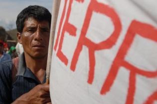 La marcha de 216 kilómetros que partió de Cobán a la Ciudad, en marzo de 2012, logró reducir la deuda agraria.