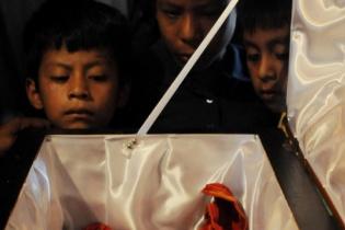 Los huesos de Martina Rojas. Su osamenta no fue encontrada completa.