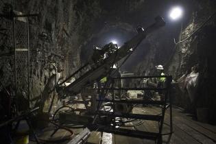 Interior de la mina El Escobal del proyecto minero San Rafael