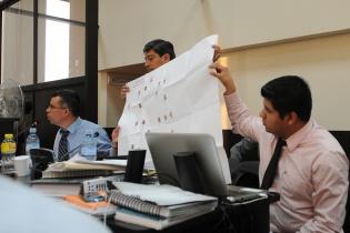 El Ministerio Público muestra la estructura de la supuesta organización criminal.