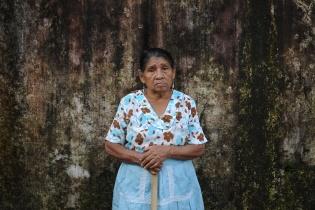 Raymunda Pérez, 75 años.