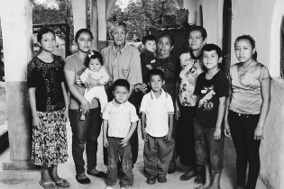 Pedro y su familia