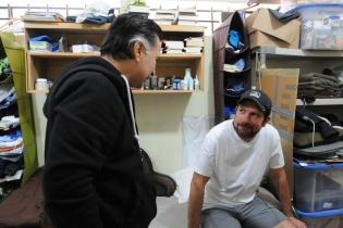 Estuardo Valdéz y Alfonso Portillo tienen fascinación por la lectura.