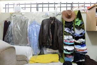 La ropa del ex mandatario.