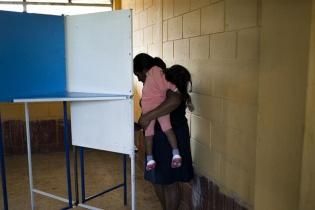 El voto de una mujer, y madre.