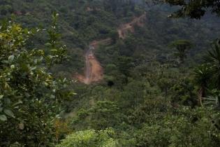 Toda la tierra cultivable del distrito de Purulhá, Baja Verapaz, pertenece  a fincas privadas.