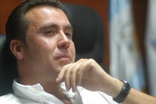 Alejandro Sinibaldi durante la campaña electoral de 2011, cuando aspiraba a la alcaldía capitalina.