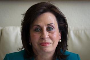 ser la primera presidenta del país y llevar a su partido, la Unidad Nacional de la Esperanza (UNE), de regreso al poder.