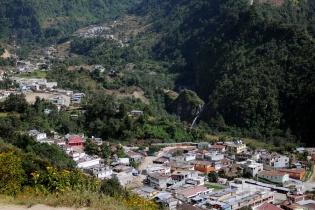 Vista panorámica de Tajumulco, municipio de San Marcos.
