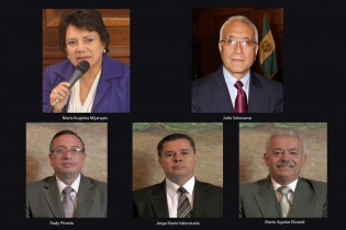 Los rostros de los  nuevos guardianes de la democracia.