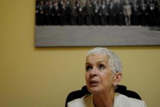 Adela Camacho de Torrebiarte, comisionada presidencial para la Reforma Policial.