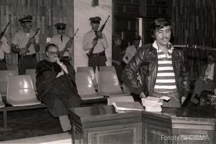 Marco Antonio González declara ante los magistrados de la CSJ.