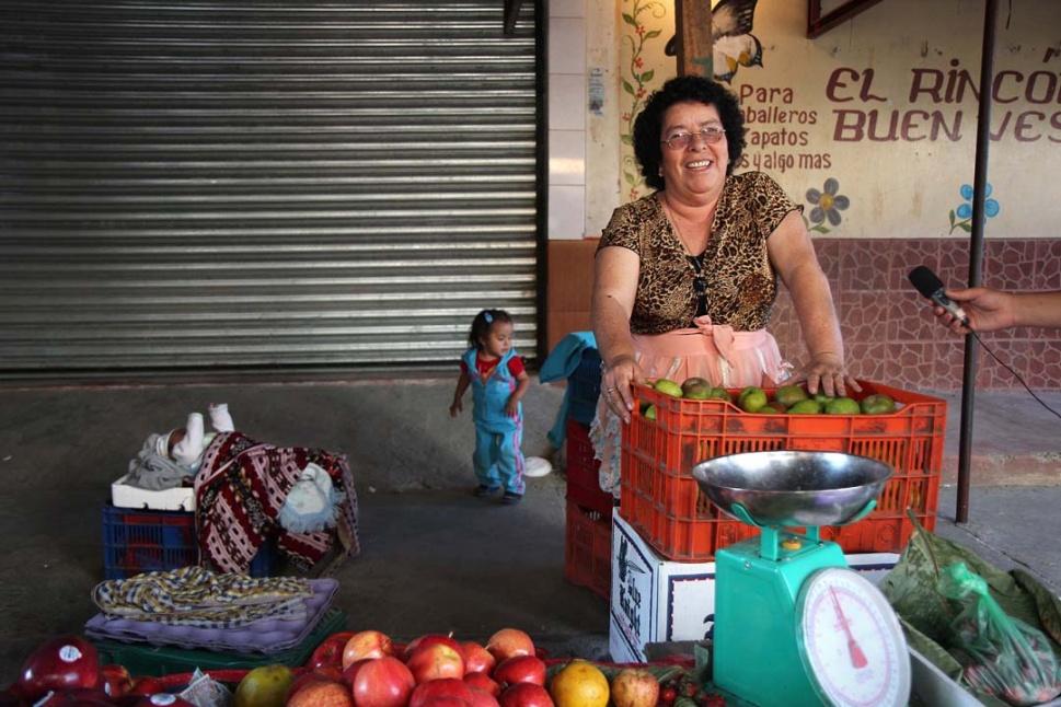 Mercado El Amparo, Penìnsula Bethania.