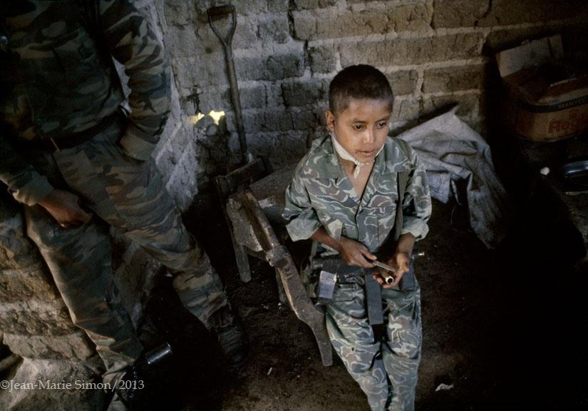 Sus padres fueron asesinados por el ejército, Nebaj, Quiché.