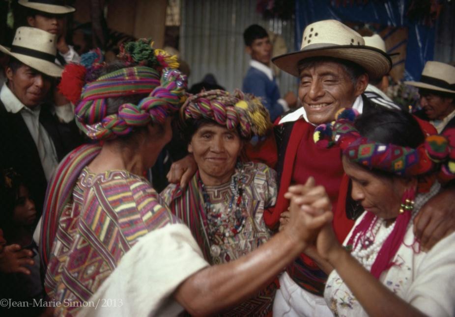 Festividad anual en Nebaj, Quiché.