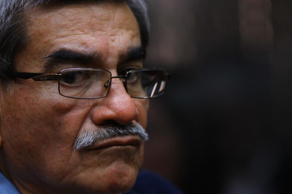 José Mauricio Rodríguez Sánchez, ex director de Inteligencia Militar, escucha la decisión del juez.