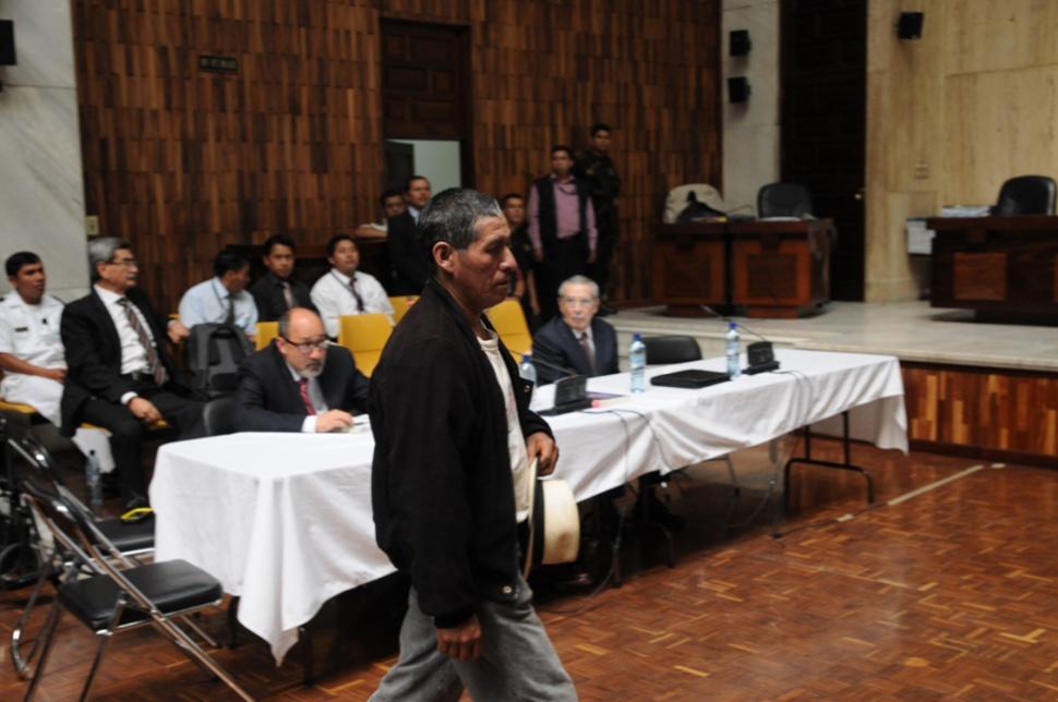 Nicolás Bernal Brito fue el primer testigo.