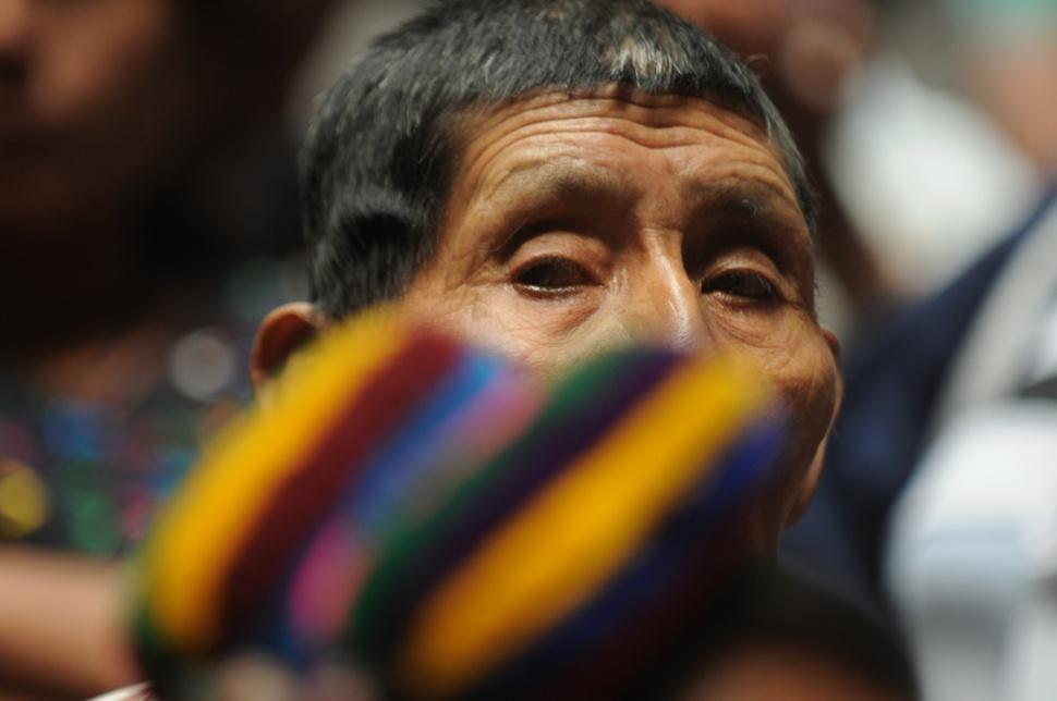 Los asistentes al juicio provenían de Quiché, Baja y Alta Verapaz, Huehuetenango y El Quiché, entre otros.