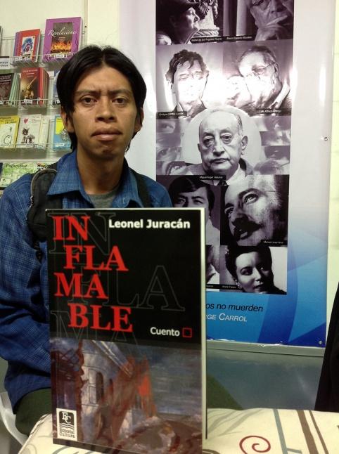 Leonel Juracán. Inflamable.
