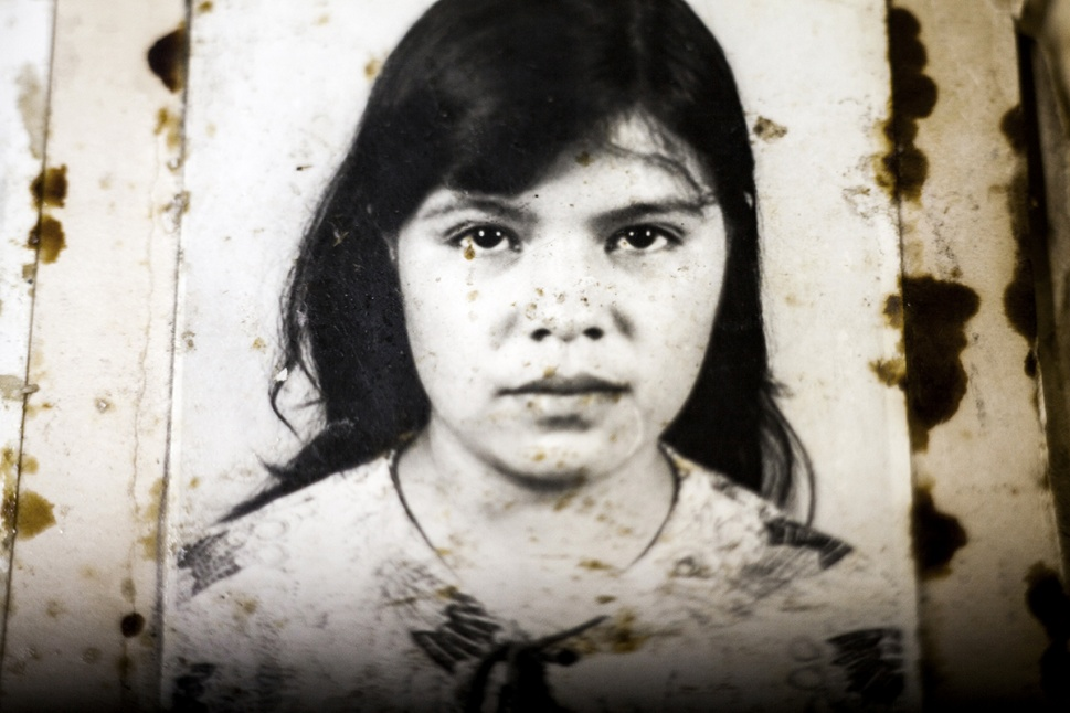 Floridalma Velasco Méndez, detenida el 25/10/1974 por prostitución