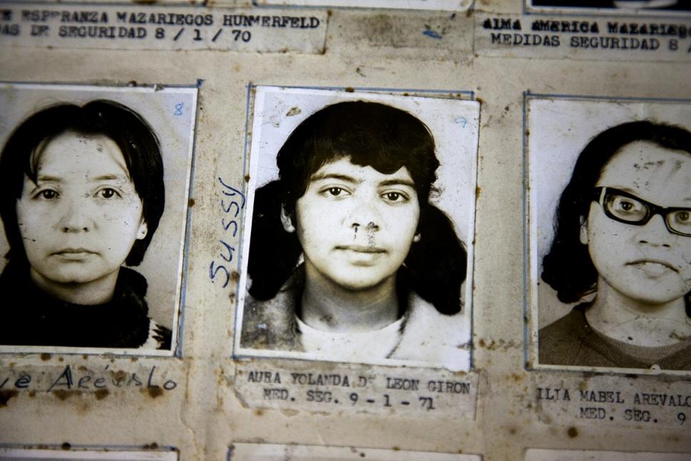 Aura Yolanda de León Girón, detenida el 09/01/1971 por medidas de seguridad