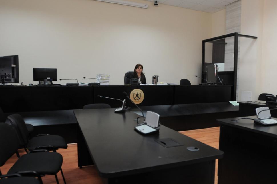 La jueza Carol Patricia Flores.