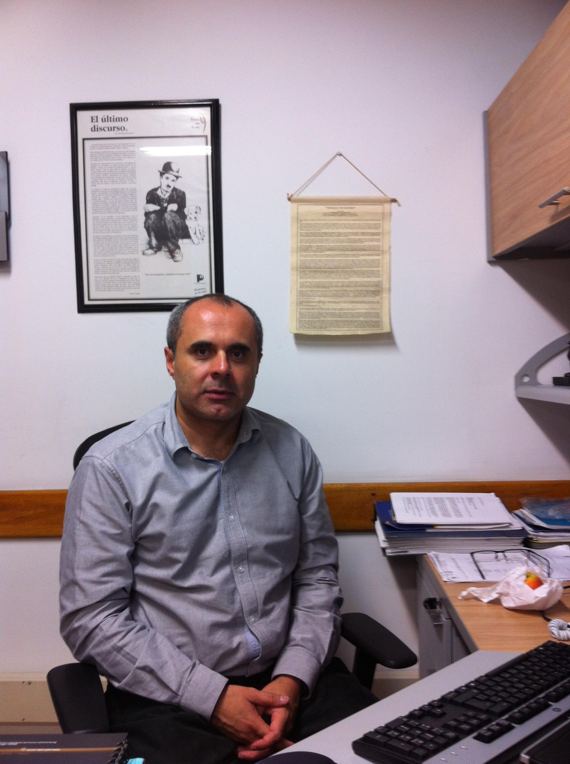 David Suárez Tamayo, exsecretario general de la compañía.