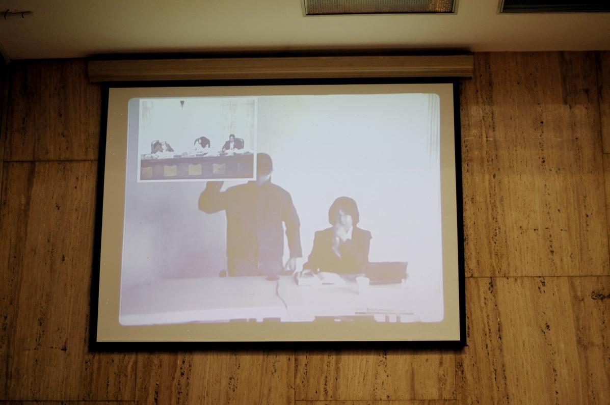 El testigo Hugo Leonardo Reyes implicó al presidente Otto Pérez Molina en las masacres de indígenas de los años 80 por las que son juzgados José Efraín Ríos Montt y su jefe de inteligencia, José Rodríguez Sánchez. Fotografías de Sandra Sebastián