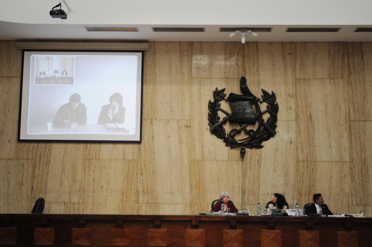 El Tribunal escuchó a tres testigos por videoconferencia para resguardar su integridad física.