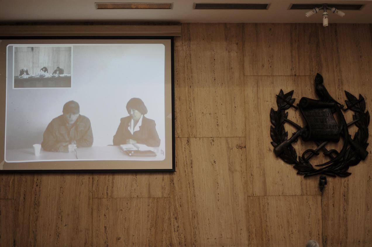 El testigo declaró por videoconferencia.