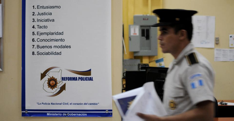 El listado de las cualidades policiales que plantea la reforma policial.