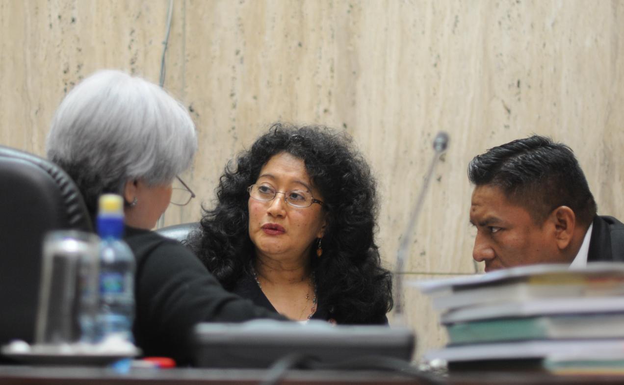 El Tribunal A de Mayor Riesgo reanudó el debate en contra de Efraín Ríos Montt y Mauricio Rodríguez Sánchez. Fotografías de Sandra Sebastián