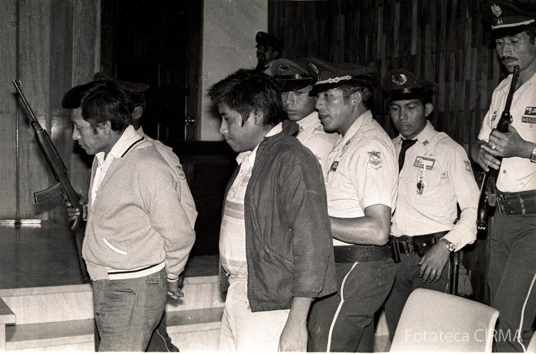 Carlos Subuyuj y Pedro Raxón fueron fusilados el 3 de marzo de 1982.