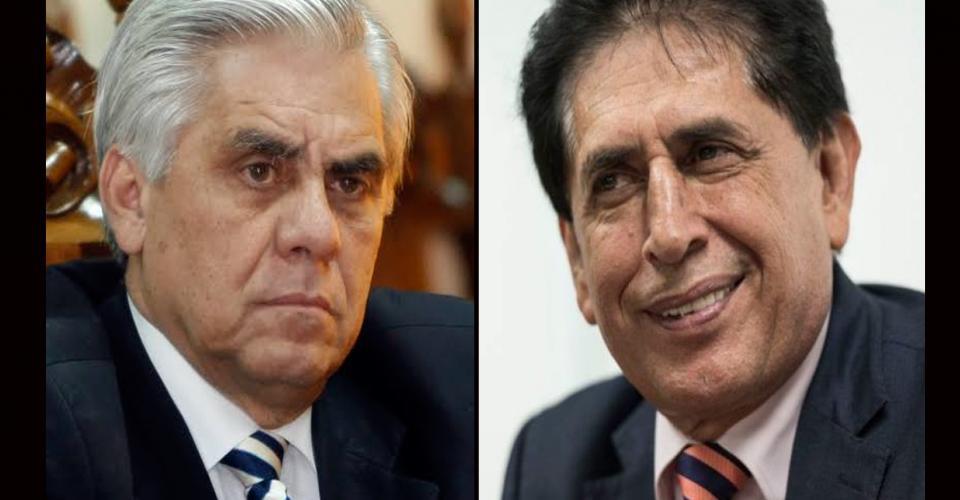 Héctor Trujillo (izquierda) y Brayan Jiménez pagaron millonarias fianzas en la Corte de Nueva York para obtener la libertad condicional en el proceso penal que se sigue en su contra por un caso de corrupción en la FIFA.
