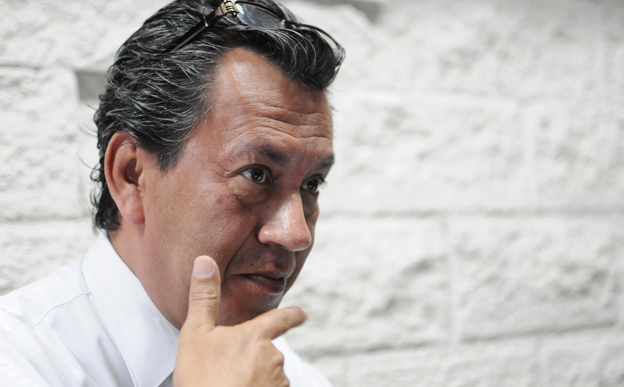 El encargado de la Ventanilla Ágil, Carlos Pérez Girón.
