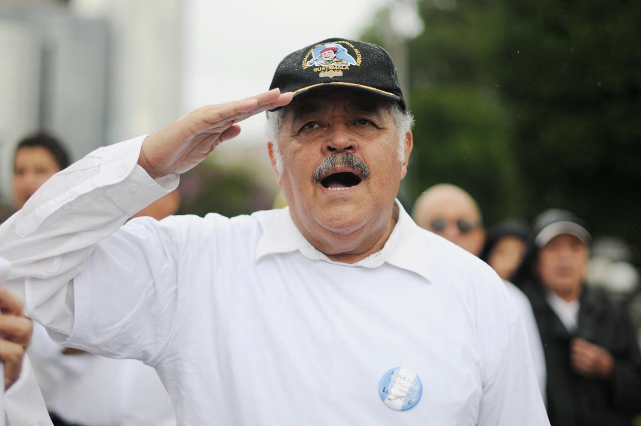 El canto de los veteranos.