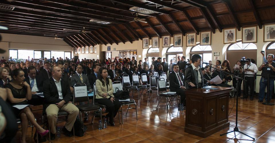 Hellen Mack solicitó anular la elección de magistrados de la Corte Suprema de Justicia y Cortes de Apelaciones. Foto: Sandra Sebastián
