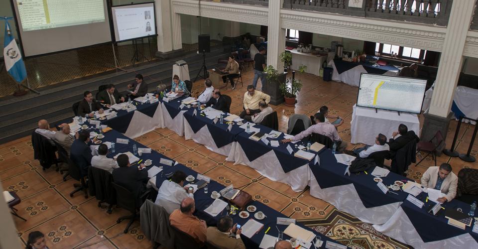 Reunión de la Comisión de Postulación para Cortes de Apelación. Fotografía de Sandra Sebastián